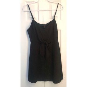 Forever 21 | Button Front Tie Knot Skater Dress